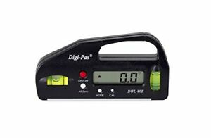 DigiPas DWL80E Pocket Size Digital Level Electronic Angle Gauge Protractor An... $42.28