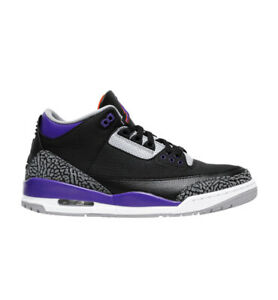 Nike Air Jordan 3 Retro Black Court Purple Cement CT8532 050 MENS 8 13 $195.00