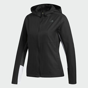 adidas Own the Run Hooded Wind Jacket Womens $27.99