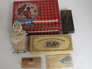 Vintage lot of Sewing Boxes Spools Crochet items $40.00