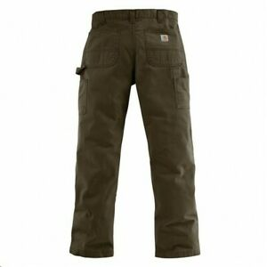 NEW Men#x27;s Carhartt Washed Twill Dungaree PantsColor: Dark Coffee