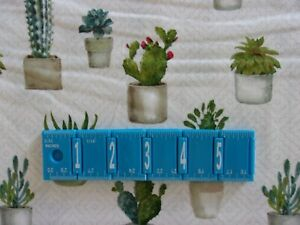 Cactus Verde Floral David Textile Crafting Sewing Quilting Cotton Fabric YARD $10.36