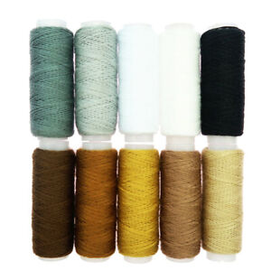 10x Sewing Spools Polyester Sewing Thread Machine Quilting Threads $8.28