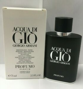 Acqua Di Gio PROFUMO by Giorgio Armani PARFUM Spr For Men 2.5 Oz NEW IN TSTR BOX $73.99