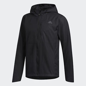 adidas Own the Run Hooded Wind Jacket Mens $27.99