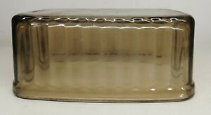 Antique Top Butter Dish Glass France Vintage Decoration Collection H 2 5 8in