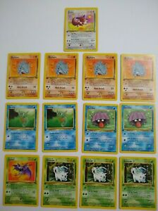 Lot of 26 1st Edition Pokemon Cards Some Doubles 1999 WOTC NM FREE SHIPPING $15.00