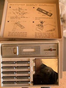 Vintage Sears Kenmore Sewing Machine Accessories Box Cams and Buttonholder 923 $55.00