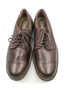 Clarks Oxfords Clarks Waterproof Brown Leather Shoes Mens 11.5 M $24.50