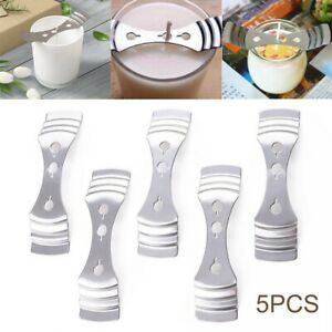 5Pcs 3 holes Metal Candle Wicks Fixed Holder Sustainers For DIY Candle Making US $7.84