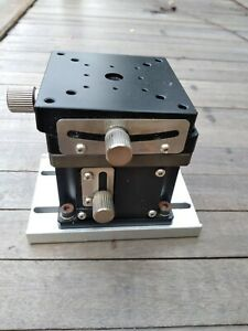 MMT T1 618 D4 Goniometer Stage MMT MZ 637D C1 Manual Stage Z Axis $120.00