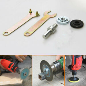 Metal Angle Grinder Spanner Lock Adapter Wrench Nuts Electric Drill Hand Tools $7.49