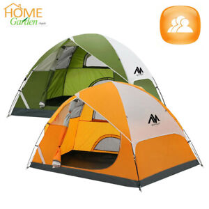 2 3 Person Ultralight Backpacking Tent Waterproof Camping Double Layers Shelter