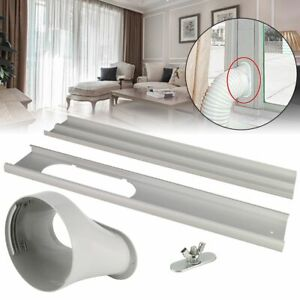 2 3 PCS Window Slide Kit Plate Screw Window Adaptor For Portable Air Conditioner