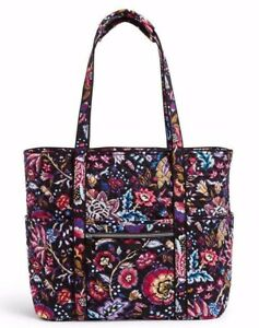 Vera Bradley Get Carried Away Tote Foxwood NWT $89.99