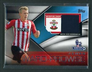 2014 JAMES WARD PROWSE JERSEY TOPPS BARCLAYS PREMIER LEAGUE