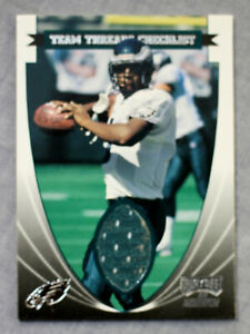 McNabb Staley Johnson Brown Eagles 1999 Playoff Momentum SSD Team Threads Jersey