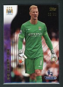 2015 JOE HART 23 50 TOPPS BARCLAYS PREMIER LEAGUE