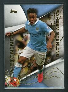 2015 RAHEEM STERLING TOPPS BARCLAYS PREMIER LEAGUE NEW SIGNINGS