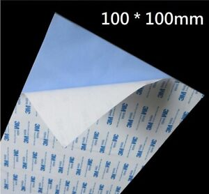 Thermal Conductive Silicone for Double sided Tape 100x100mm x 0.5mm,Heatsink