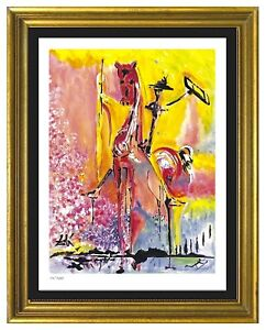 """Salvador Dali """"Knight of the Middle Agesquot;Signed Hand Numb Ltd Ed Print unframed $99.99"""