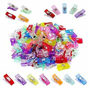 100 Pcs Colorful Sewing ClipsMultipurpose Sewing Accessories Quilting Clips f... $12.26