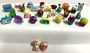 Shopkins Season 5 Lot of 25 some Rare 2 Exclusives amp; Glow in Dark Clicky Mouse