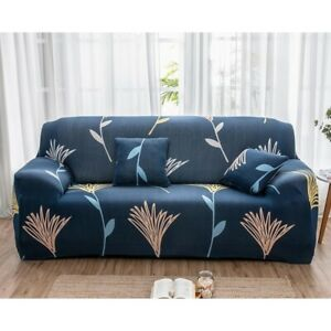 Printed Sofa Cover Slipcovers Elastic Couch Case for Different Shape Sofa Case