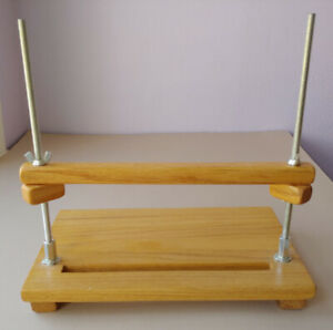 Bookbinding sewing frame book sewing on tapes cords $45.00