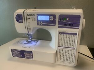 Brother HC1850 Sewing and Quilting Machine untested as is. Please read $99.99