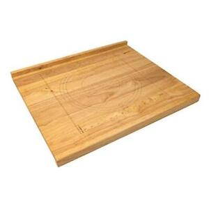 Reversible Wooden Pastry Board 24 x 20 Pastry Board with Engraved Ruler