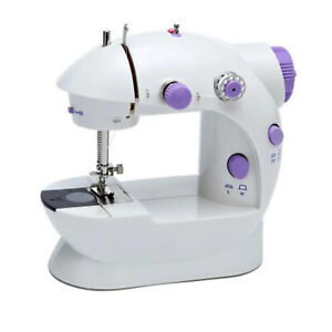 Portable Mini Desktop Electric Sewing Machine Hand Held Household Tailor 2 Speed $11.98