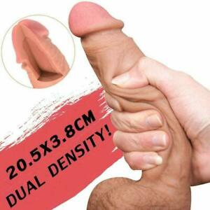 ULTRA Realistic Dildo Suction Cup Anal Vagina Sex Toy for Women No Vibrator $21.85