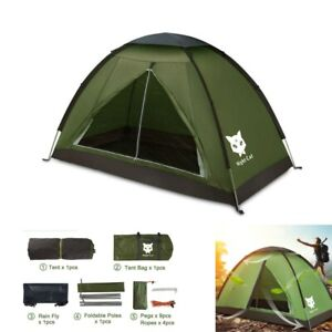 Waterproof Backpacking Tent for 1 2 Person Hiking Camping Tent Sun Shelter Best