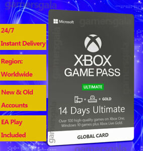 Xbox Game Pass Ultimate 14 Days Code w Live Gold for All Xbox Consoles Global $1.89