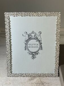 Olivia Riegel Evie 8 x 10 Crystal Picture Frame New Missing The Glass Insert