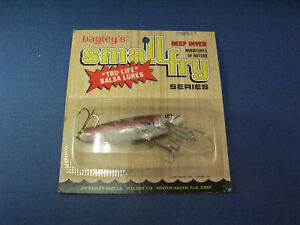 BAGLEY SMALL FRY DIVING RAINBOW TROUT 7DSF3 FISHING LURE RT 1*