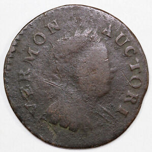 1788 Vermont Colonial Copper Coin $139.00