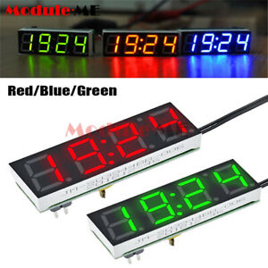 3 in 1 Digital LED Electronic DS3231SN Clock Temperature Voltage Module DIY Kit GBP 4.69
