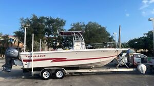 2002 PRO LINE BOATS CO 25 SPORT Central Console Fishing Boat Yamaha 225HP