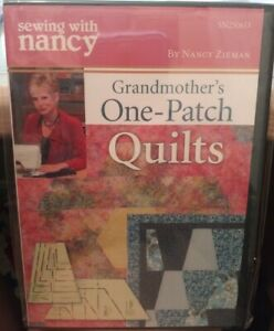Sewing With Nancy Grandmother#x27;s One Patch Quilts DVD SN2506D Quilting $12.00