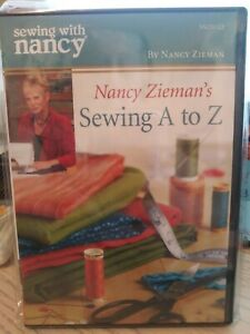 Sewing with Nancy Sewing A To Z DVD NEW sealed zieman $25.00