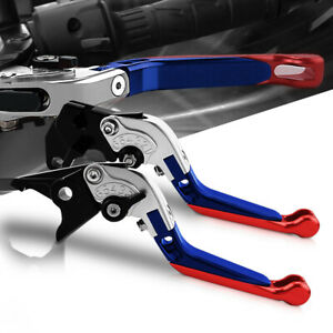 Folding Extendable Brake Clutch Levers CNC For Yamaha YZF R6 1999 2018 YZFR6 $29.99