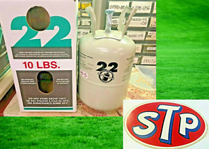 R22 10 lbs. Refrigerant 22 FAST FREE SHIPPING Sealed Tank Air Conditioning