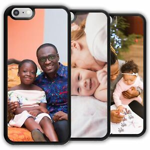Personalised Phone Case For LG Cover Customise with Photo Picture Image Text