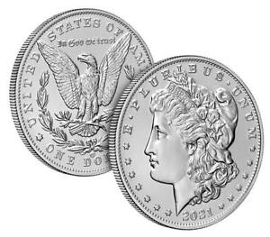 Pre sale 2021 Morgan Silver Dollar with CC Privy Mark 100th Anniversary Sold Out $289.95