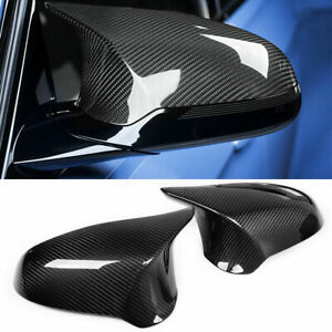 CARBON FIBER MIRROR COVER REPLACEMENT CAP FOR BMW F80 M3 F82 M4 2015 2016 18 $138.00