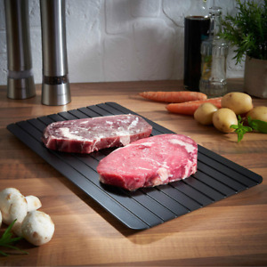 Fast Defrosting Tray Defrost Meat Thaw Frozen Food Magic Kitchen Defrosting Tray