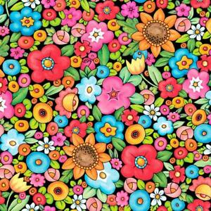 Mottos to Live By Floral Mary Engelbreit 1 Yard By the Yard