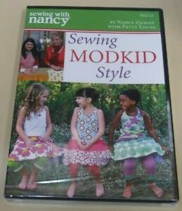 Sewing With Nancy: Sewing Modkid Style On DVD Brand New $9.99